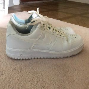 Nike White Air Force One Shoes!!